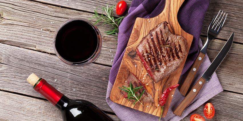 Les 3 règles d'or pour accorder le vin et le boeuf