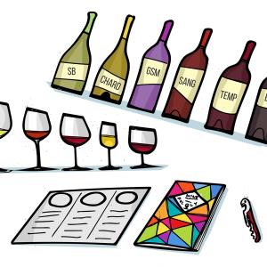 Un cours sur le vin vient sur un canapé près de chez vous