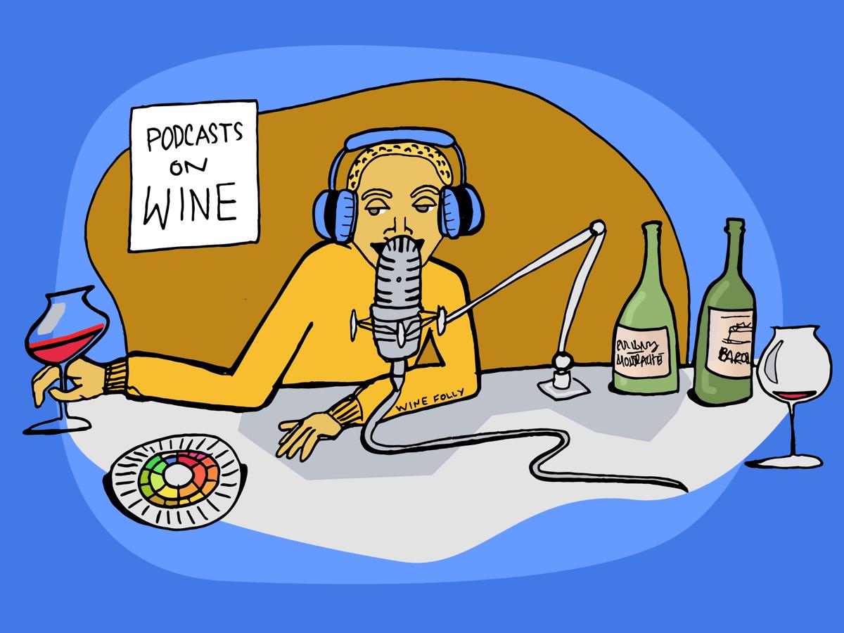 7 podcasts sur le vin à écouter
