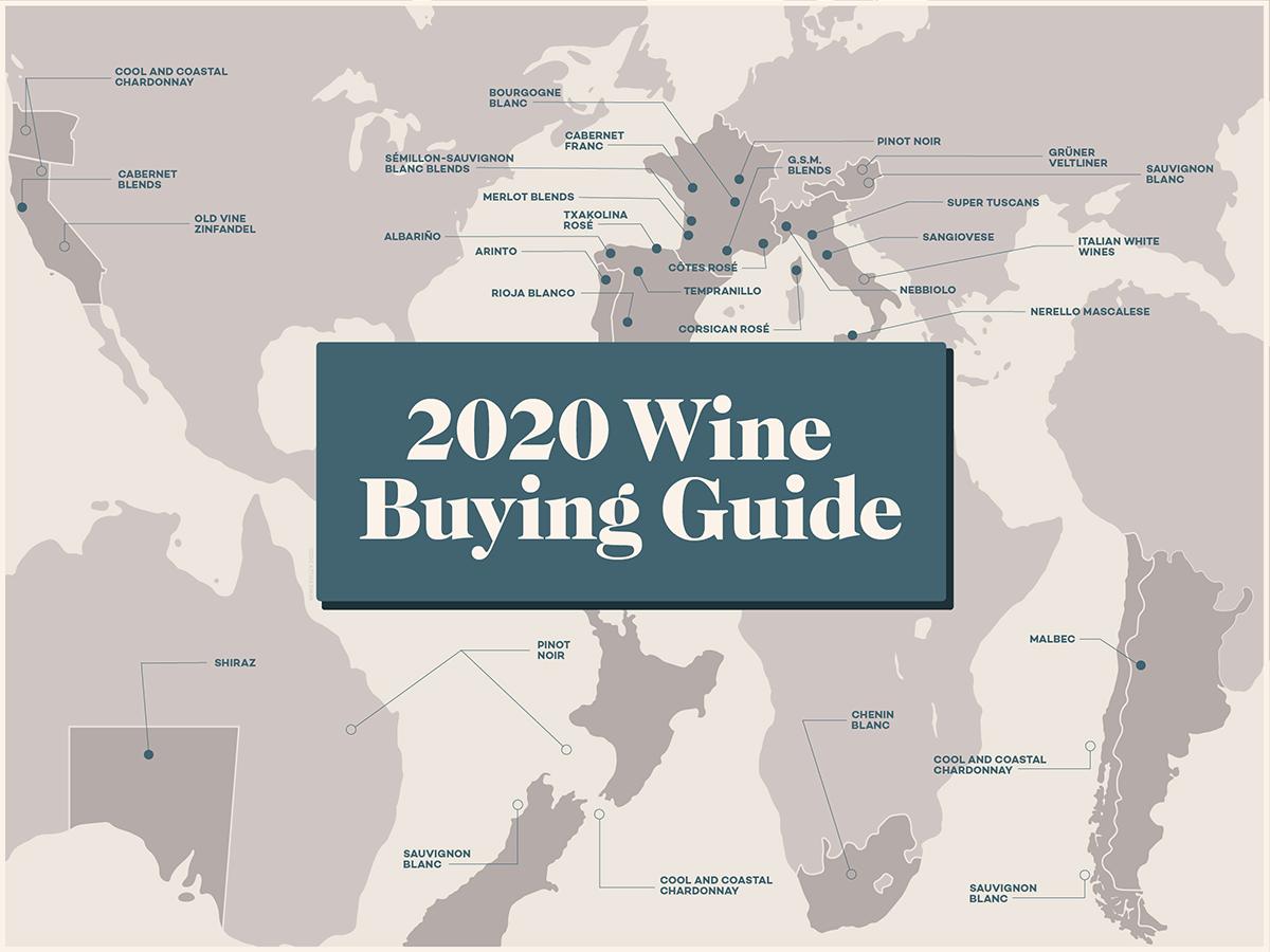 Guide d'achat de vins 2020 (rouge, blanc et rosé)