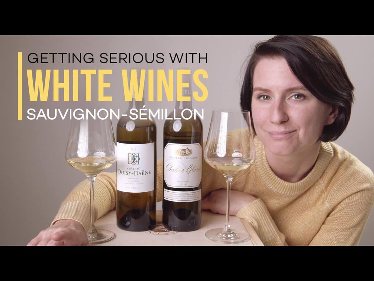 Vous aimez le chardonnay?  Essayez le Sauvignon Blanc-Sémillon (Vidéo)