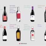 8 vins rouges Dark Horse du sud de l'Italie