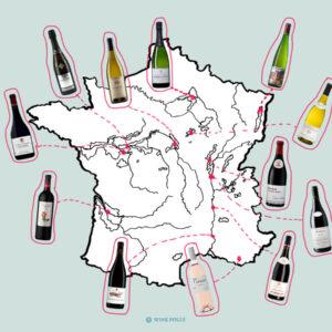 Calendrier de l'Avent des vins de France (en 12 bouteilles)