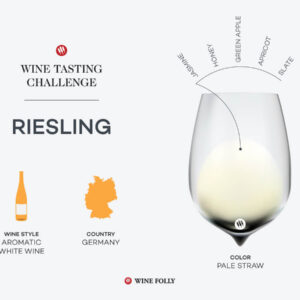 Défi de la dégustation: le roi du vin allemand, le riesling