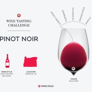 Défi dégustation: Délicate Diva de l'Oregon – Pinot Noir