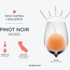 Défi Dégustation: Pinot Noir Rosé américain