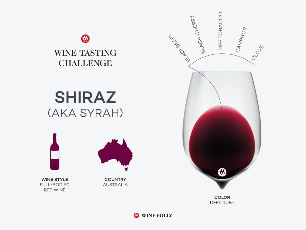 Défi dégustation: Shiraz australien    Folie du vin