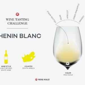 Défi dégustation: Chenin Blanc    Folie du vin