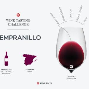 Défi dégustation: Tempranillo espagnol    Folie du vin