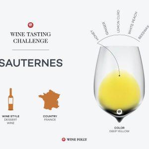Défi dégustation: Sauternes français |  Folie du vin